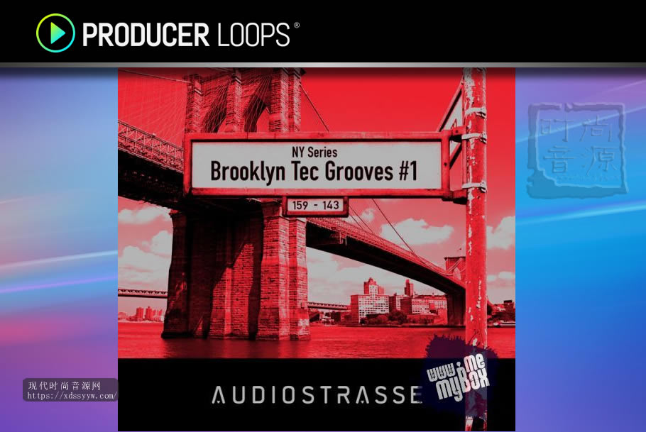 Audio Strasse NY Series Brooklyn Tec Grooves 1 WAV