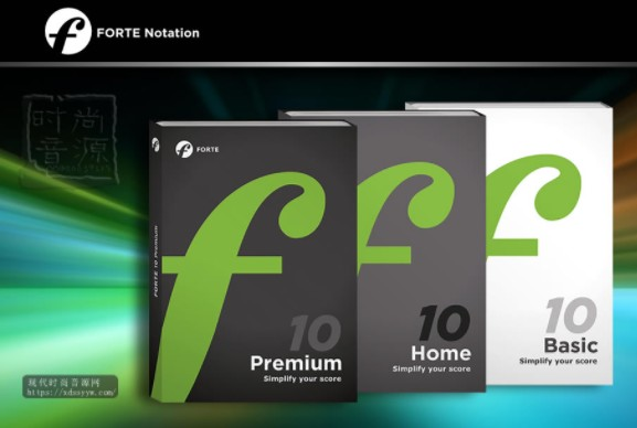 FORTE Notation v9.03 Premium RETAIL PC 打谱软件
