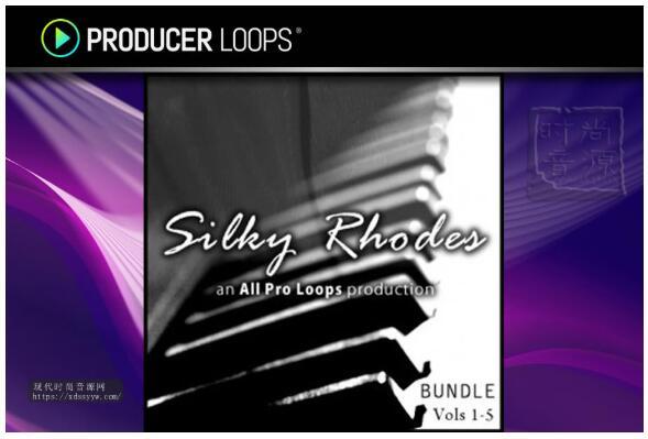 All Pro Loops Silky Rhodes Bundle Vols.1-5 WAV MiDi