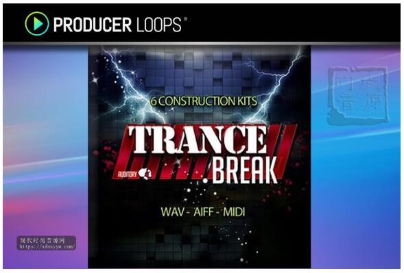 Auditory Trance Break (WAV-AiFF-MiDi)