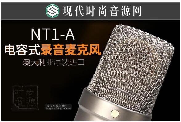 RODE NT1A 低噪声大震膜电容人声录音话筒