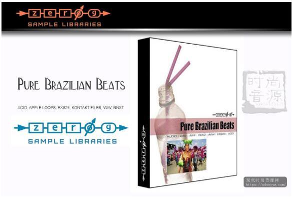 Zero-G Pure Brazilian Beats KONTAKT 拉丁风格素材