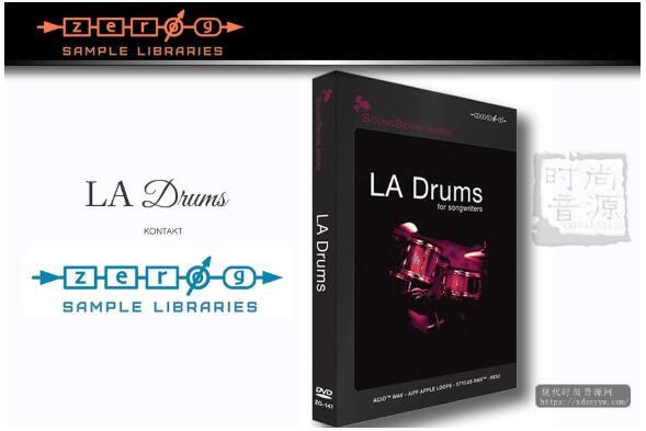 Zero-G LA Drums for Songwriters KONTAKT摇滚嘻哈流行打击乐