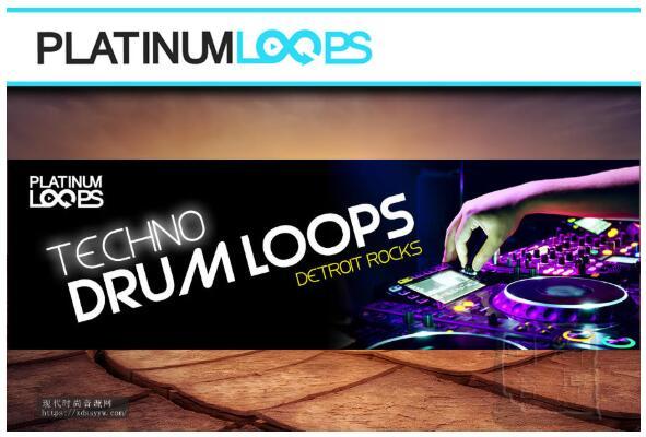 Techno Drum Loops – Detroit Rocks
