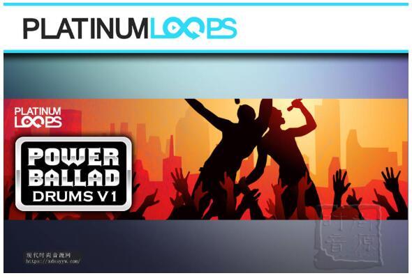 Power Ballad Rock Drum Loops