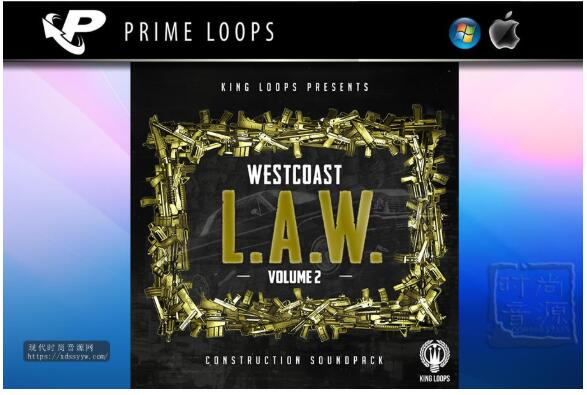 King Loops West Coast L.A.W vol 2