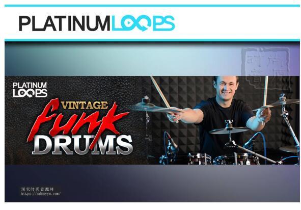 Vintage Funk Drum Loops