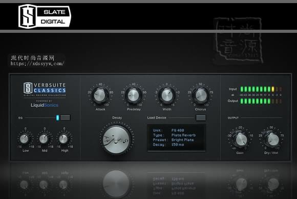 Slate Digital Verbsuite Classics v.1.0.3.2板岩经典混响