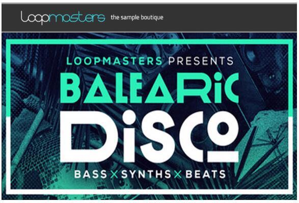 Loopmasters Balearic Disco