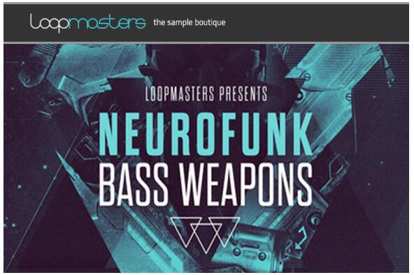Loopmasters Neurofunk Bass Weapons