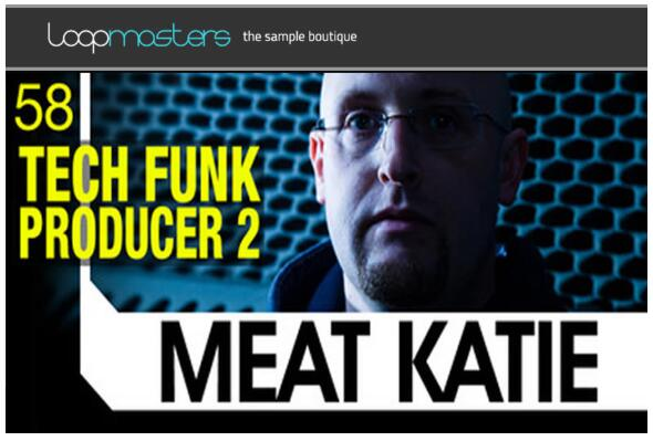 Loopmasters Meat Katie Tech Funk Producer Vol 2