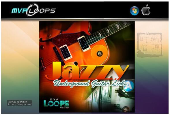 MVP Loops Jazzy Underground Guitar Licks