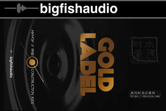 Big Fish Audio Gold Label Hip Hop and RnB KONTAKT