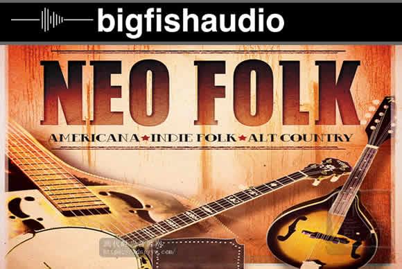 Big Fish Audio Neo Folk KONTAKT美国新民谣