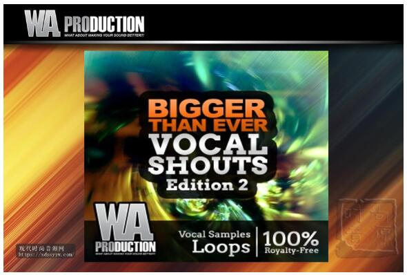 WA Production Bigger Than Ever Vocal Shouts Edition 2