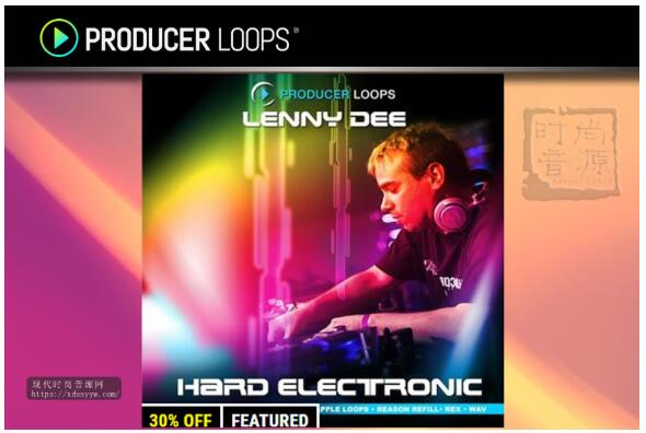 Producer Loops Lenny Dee Hard Electronic