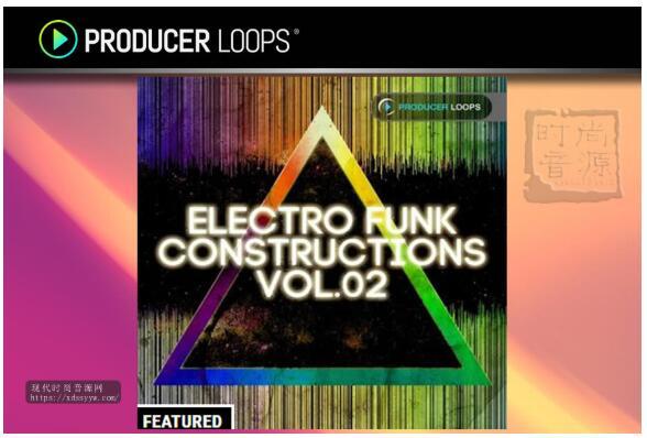 Producer Loops Electro Funk Constructions Vol 2