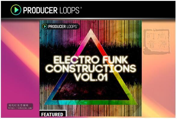 Producer Loops Electro Funk Constructions Vol 1