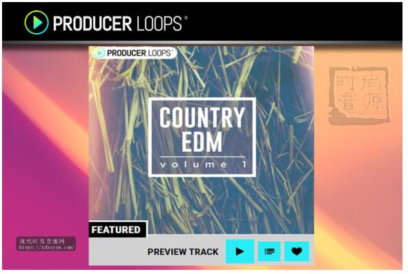 Producer Loops Country EDM Vol 1