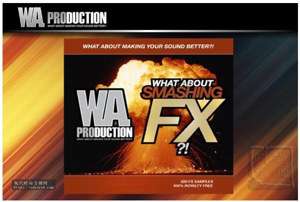 WA Production What About Smashing FX WAV