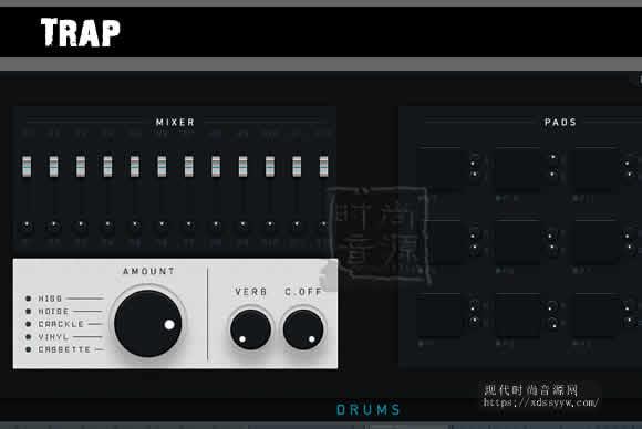 Trap Drums 2 KONTAKT 嘻哈风格鼓节奏合成器
