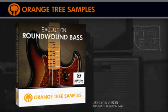 Orange Tree Samples Evolution Roundwound Bass v1.0.0 KONTAKT电贝司