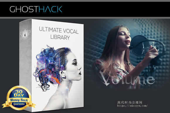 GhostHack Ultimate Vocal Library Volume 2 WAV女声乐库