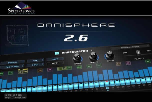 Spectrasonics Omnisphere 2.6 Win 大气合成器
