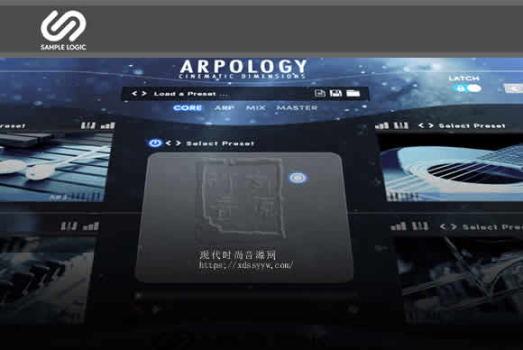 Sample Logic ARPOLOGY Cinematic Dimensions KONTAKT电影音序琶音器