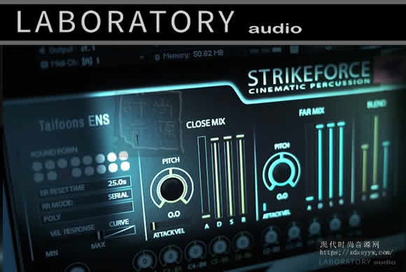 Laboratory Audio STRIKEFORCE KONTAKT电影打击乐库