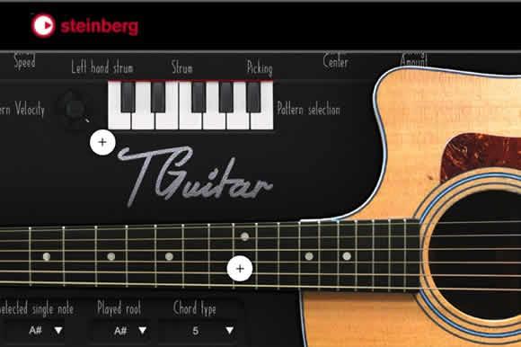 steinberg TGuitar 泰勒C410木箱琴音源