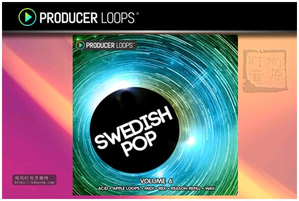 Producer Loops Swedish Pop Vol 6 瑞典流行素材