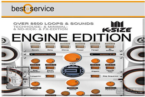 Best Service K-Size Engine Edition Library 综合合成器