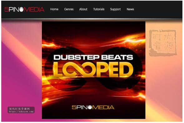 5Pin Media Dubstep Beats Looped 舞曲素材