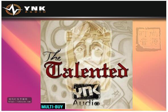 YnK Audio The Talented 嘻哈节奏素材