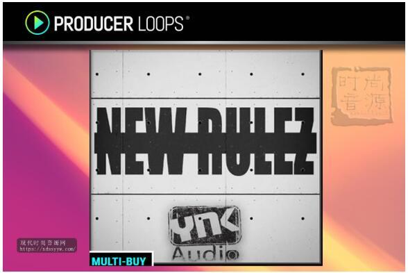 YnK Audio New Rulez 嘻哈节奏素材