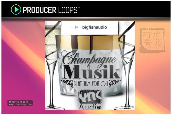 YNK Audio Champagne Musik Platinum Edition 流行素材