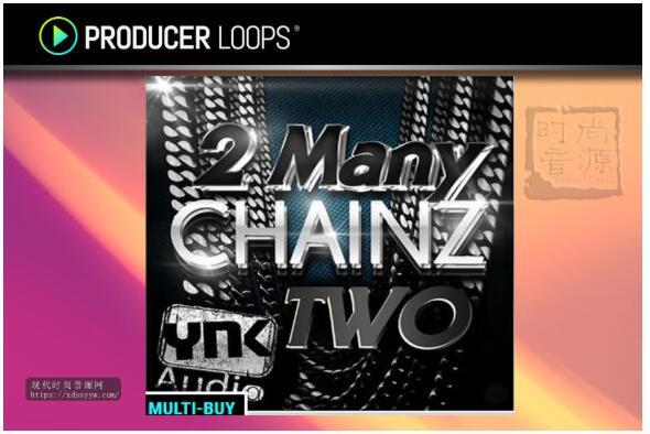 YnK Audio 2 Many Chainz Two 流行节奏素材