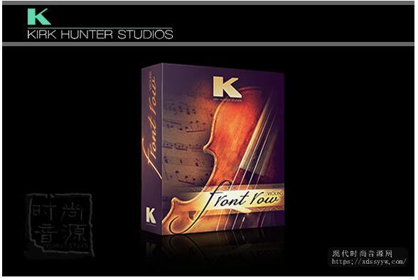 Kirk Hunter Studios Front Row Violins KONTAKT 录音小提琴