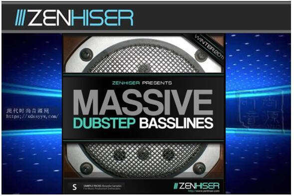 Zenhiser Massive Dubstep Basslines 电子节奏素材