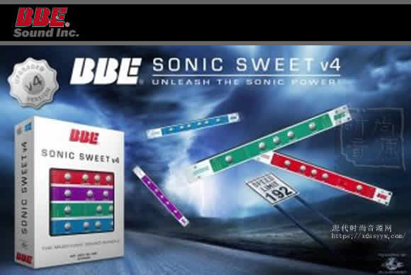 BBE Sound Sonic Sweet V4.0.1 激励混音效果器插件 PC/MAC