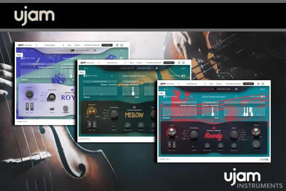 UJAM Virtual Bassist 3 虚拟贝斯手3套装