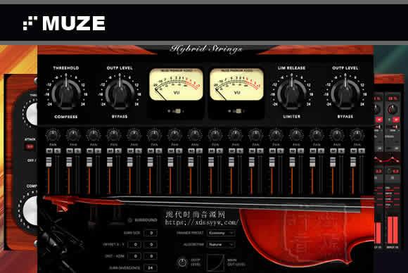 Muze Hybrid Strings KONTAKT混合弦乐