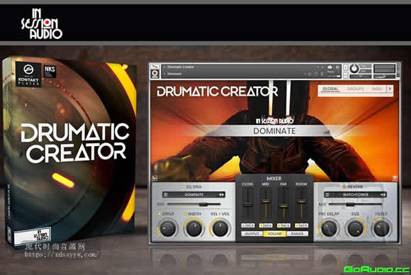 Insession Audio Drumatic Creator KONTAKT电影打击