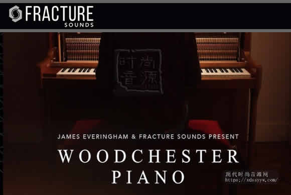 Fracture Sounds Woodchester Piano KONTAKT立式钢琴