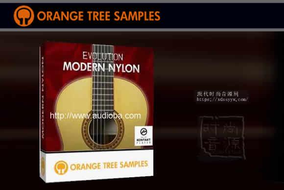 Orange Tree Samples Evolution Modern Nylon KONTAKT现代尼龙弦吉他