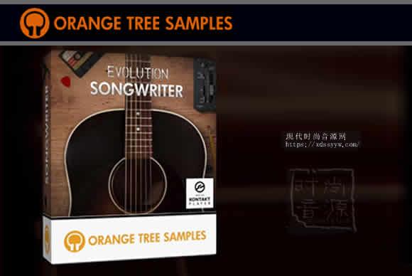 Orange Tree Samples Evolution Songwriter KONTAKT钢弦木吉他