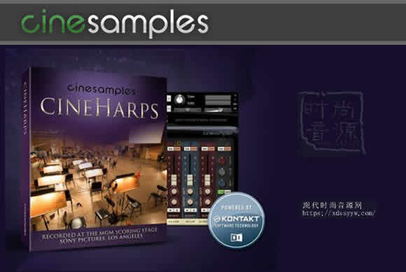 Cinesamples CineHarps v1.1 KONTAKT竖琴