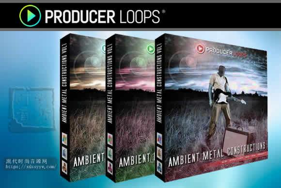 Producer Loops Ambient Metal Constructions Bundle (Vols 1-3) MULTiFORMAT