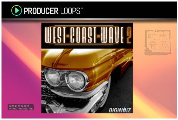 Diginoiz West Coast Wave Vol 2 西海岸流行素材